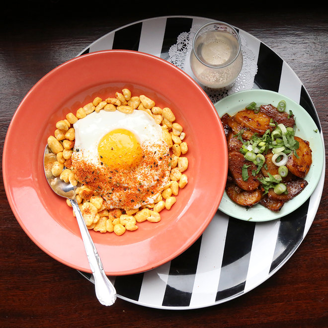 MISSION CHINESE FOOD BREAKFAST CORN POPS FWX