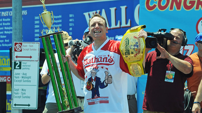 Four things to know about the Nathan's hot dog eating contest