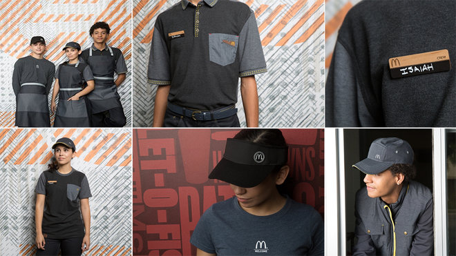 McDonald's reveals new uniforms to mixed reviews