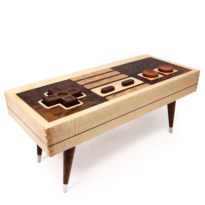 nintendo coffee table etsy