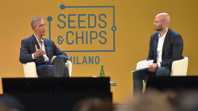 Food & Wine: Obama Seeds and Chips speech