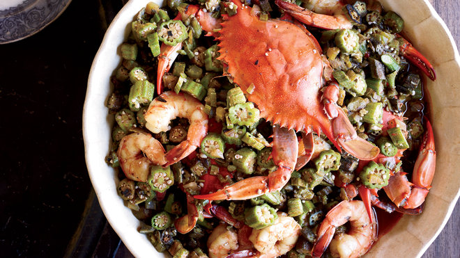 Food & Wine: crab gumbo