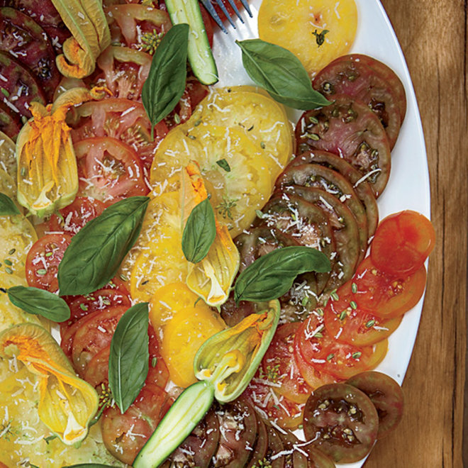 Food & Wine: Heirloom Tomato Salad