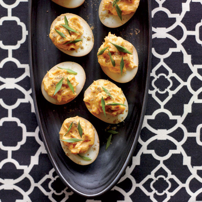 Food & Wine: Sriracha-and-Wasabi Deviled Eggs
