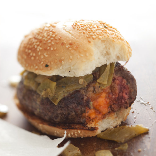 Food & Wine: 6 Genius Ways to Stuff a Burger