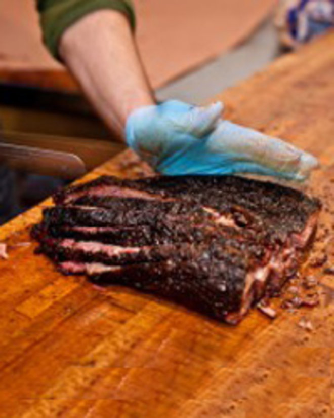 Food & Wine: Incredible brisket at Austin's Franklin Barbecue.