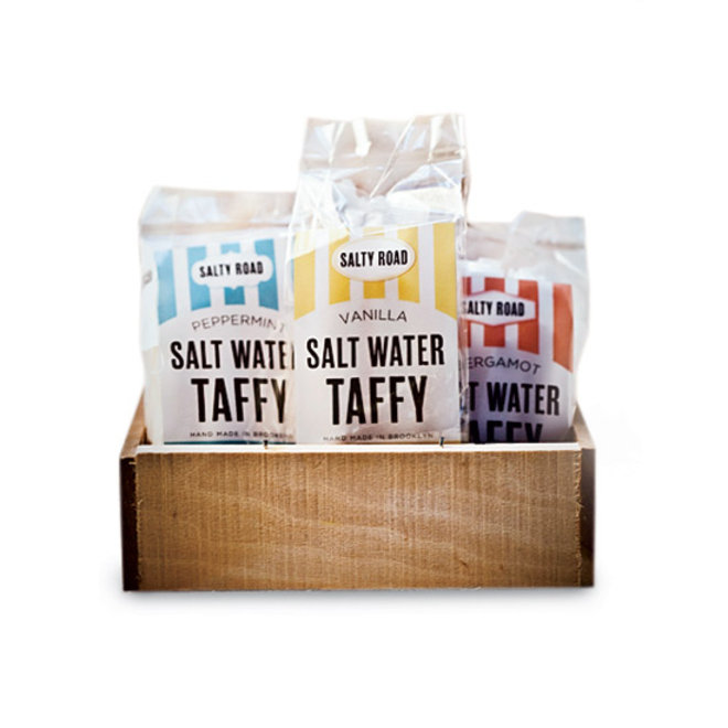 Food & Wine: Saltwater taffy from Salty Road.