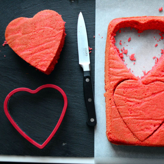 Food & Wine: Heart Cakes