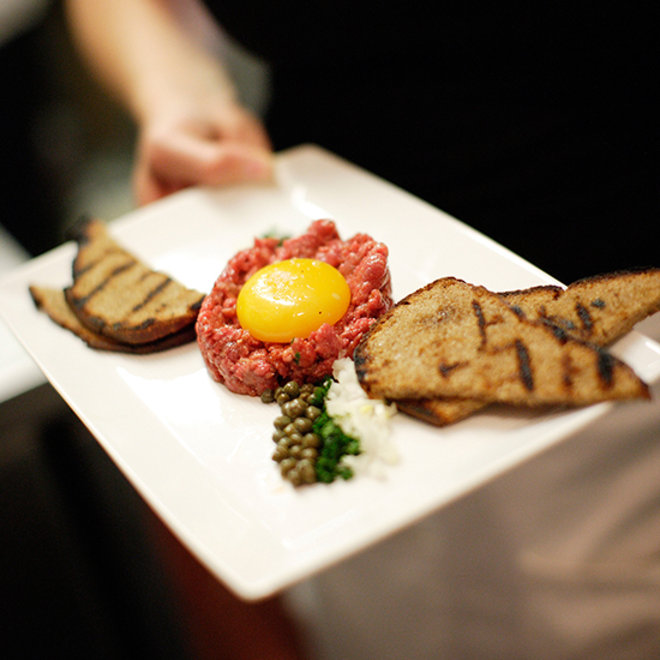Perfect Steak Tartare at Paley's Place