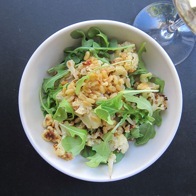 Food & Wine: Sweet-and-Smoky Wheat Berry Salad with Jurançon