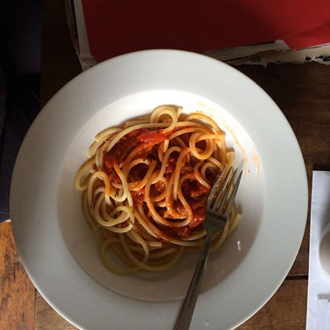 Food & Wine: F&W Editors Fight the Cold by Eating Spaghetti and Flying to Houston