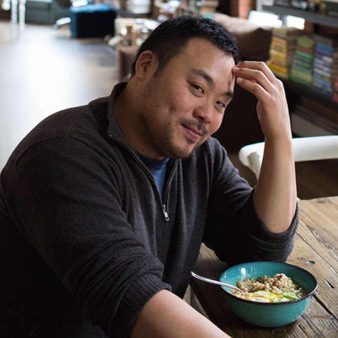 Food & Wine: David Chang Pigs Out on Barley