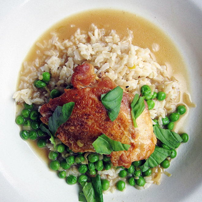 Food & Wine: Creamy Beer-Braised Chicken with Pilsner