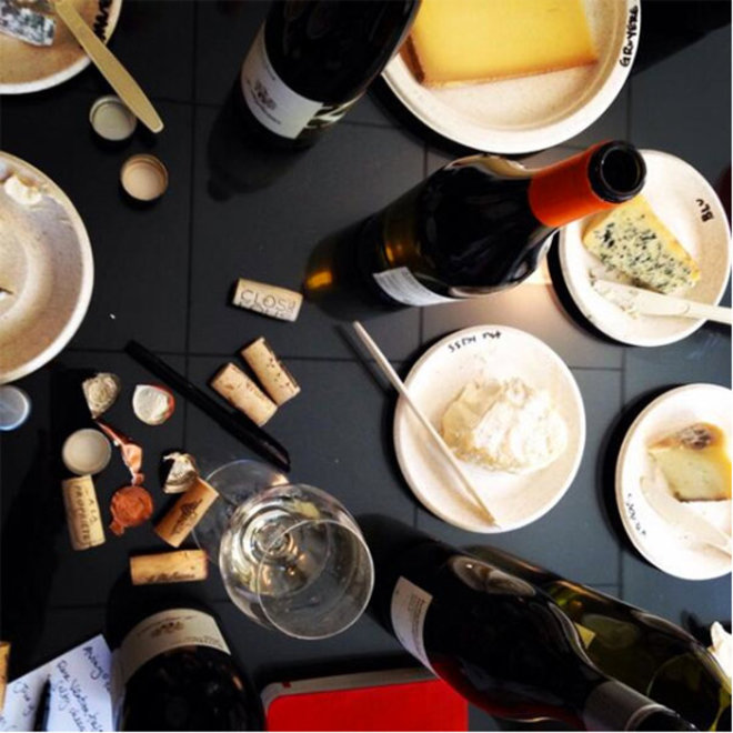 Food & Wine: Drinking Wine, Eating Cheese and Other Very Hard Things F&W Editors Do at Work