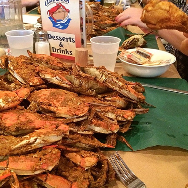 Food & Wine: Piles of Crabs, Dozens of Oysters and Obligatory L.A. Fish Tacos