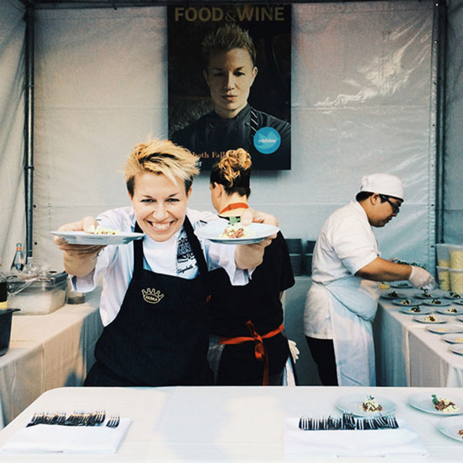 Food & Wine: Hi from the Los Angeles Food & Wine Festival