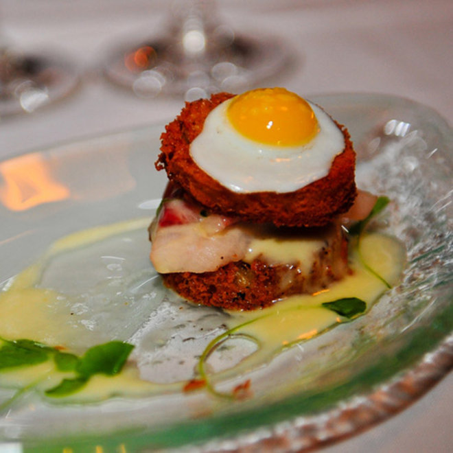 Food & Wine: An L.A. Chef's Sashimi-Enhanced Croque-Madam