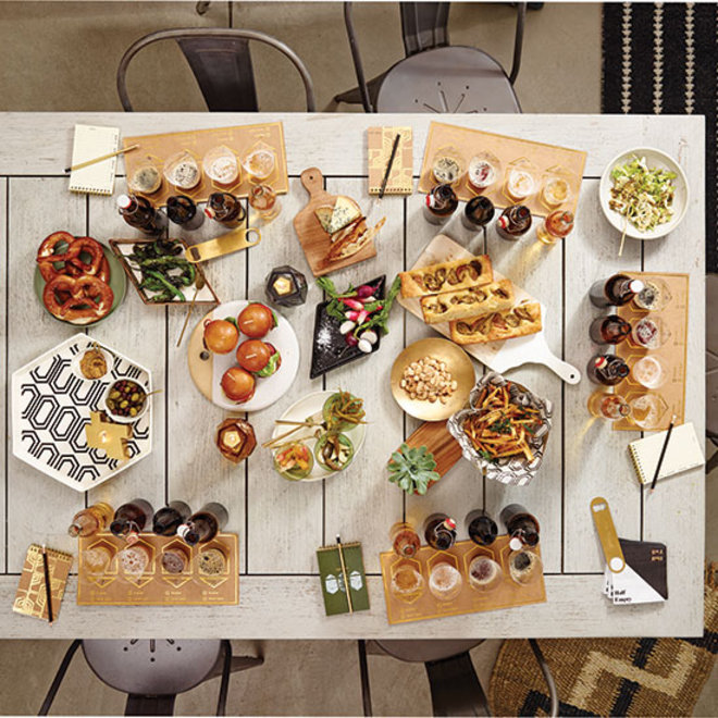 Food & Wine: Target's New Collection Includes a DIY Beer Tasting Kit