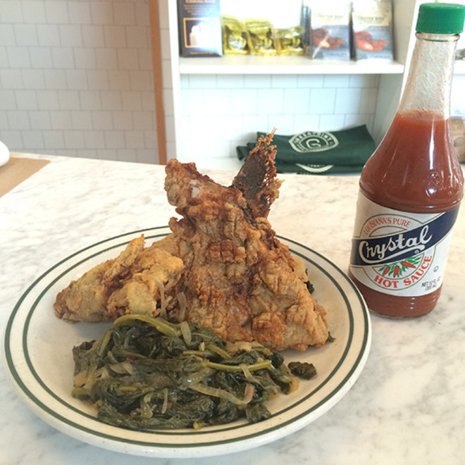 Food & Wine: Chicken-fried fish collar at Greenpoint Fish & Lobster Co.