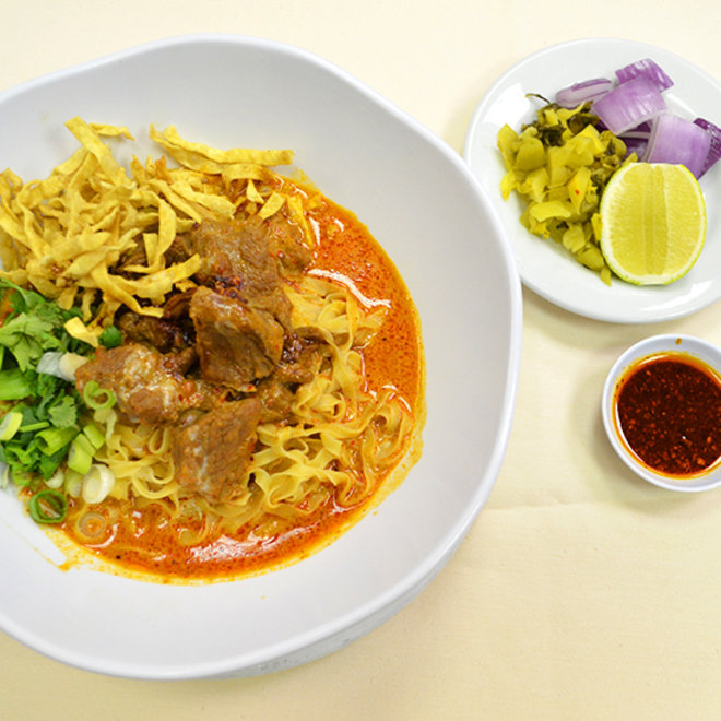 Food & Wine:  A Sure Bet in Vegas: Khao Soi at Lotus of Siam
