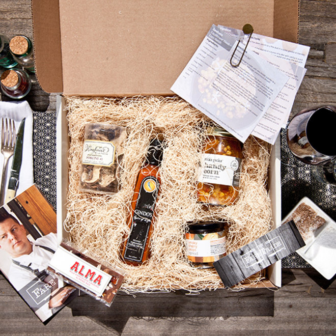 Food & Wine: Chef Matthew Gaudet's curated box for The Fare Trade