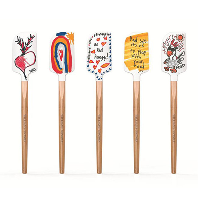 Food & Wine: Artsy Spatulas for an Amazing Cause