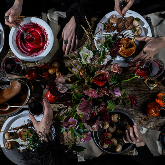 Food & Wine: Witches Dinner Party