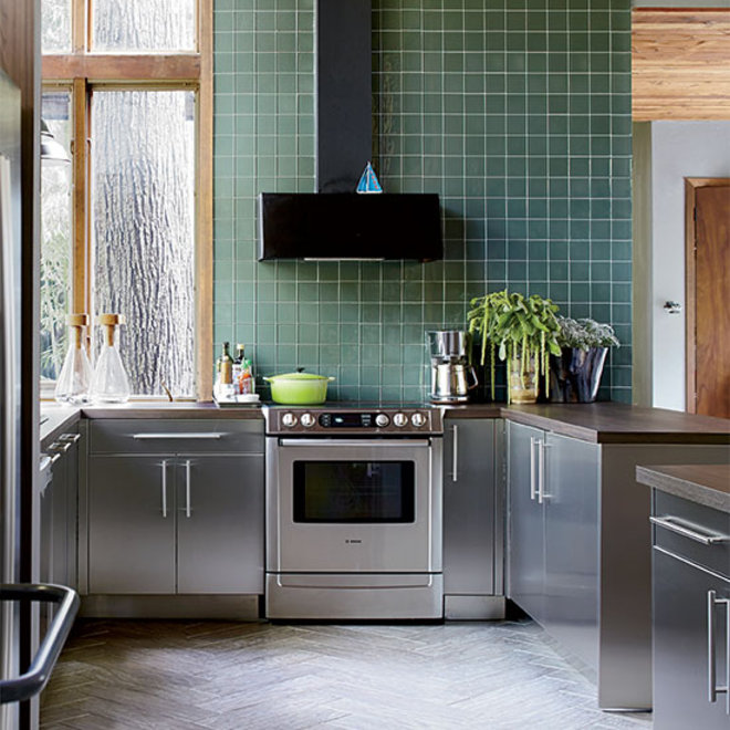 Food & Wine: How to Build a Modern Eco-Friendly Kitchen