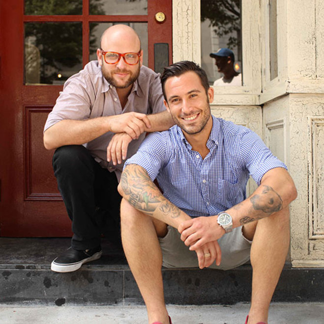 Food & Wine: The Meatball Shop's Michael Chernow and Daniel Holzman.
