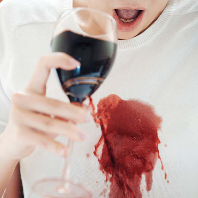 Food & Wine: The Very Best Way to Deal With a Red Wine Stain