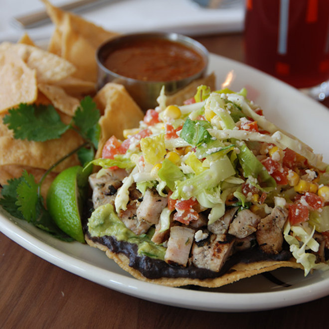 Food & Wine: Turkey Tostada