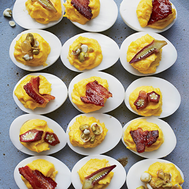 Food & Wine: The Best Deviled Eggs, Thanksgiving Drinks and DIY Beer-Soaked Cheese