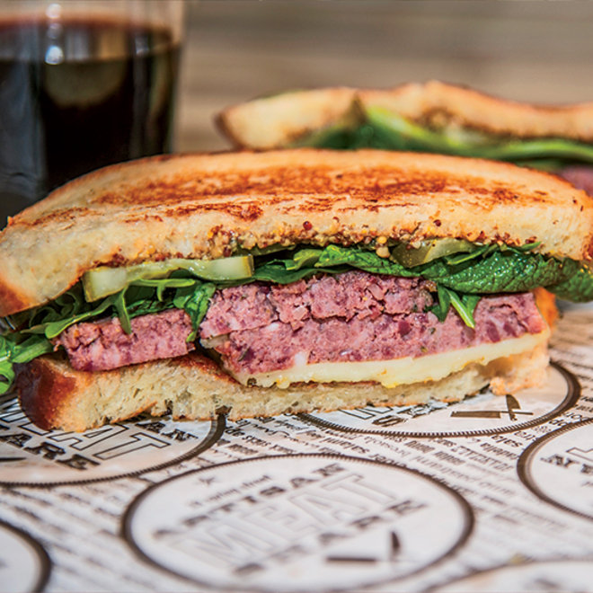 Food & Wine: Pâté Melt Sandwich