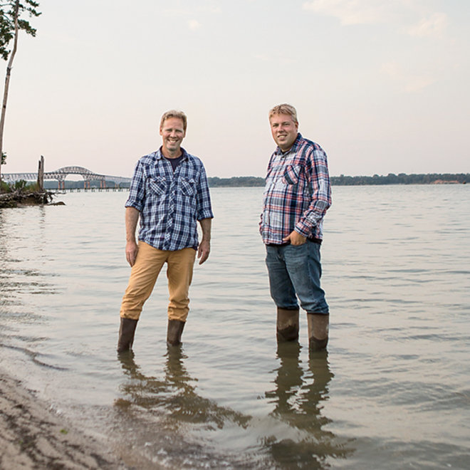 Food & Wine: Travis and Ryan Croxton, Rappahannock Oyster Co.