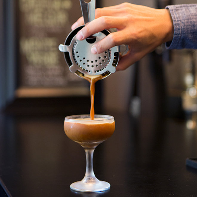 Food & Wine: Coffee Cocktail at Theorem