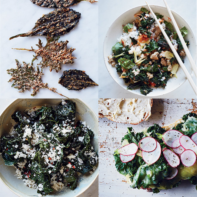 Food & Wine: 4 Super Fast Ways to Use Kale