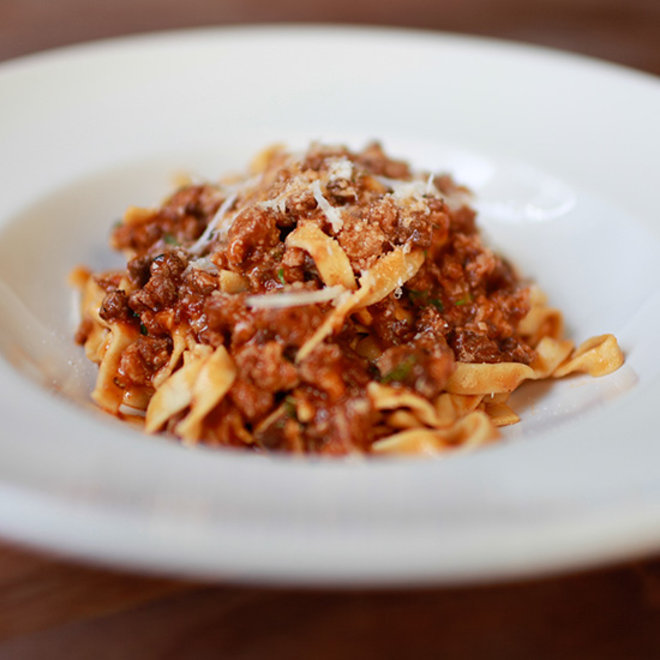 Food & Wine: Tagliatelle Bolognese at Trou Normand