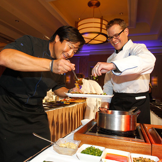 Food & Wine: Chef Ming Tsai Is Using His Fraternity of Food to Help Families Fight Cancer