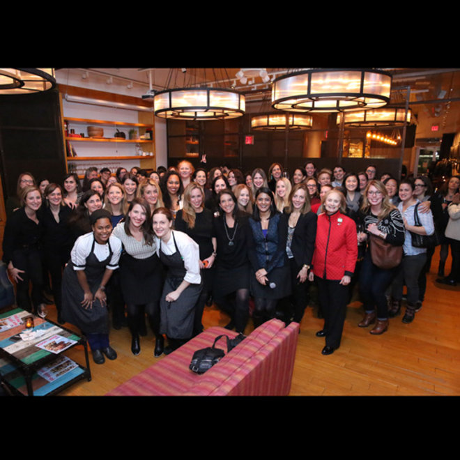 Food & Wine: Some of New York's top #FOODWINEWOMEN at New York City's Corkbuzz.