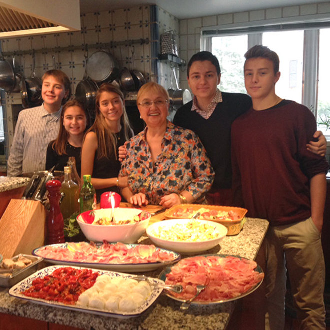 Food & Wine: Lidia Bastianich's Favorite Family Meals