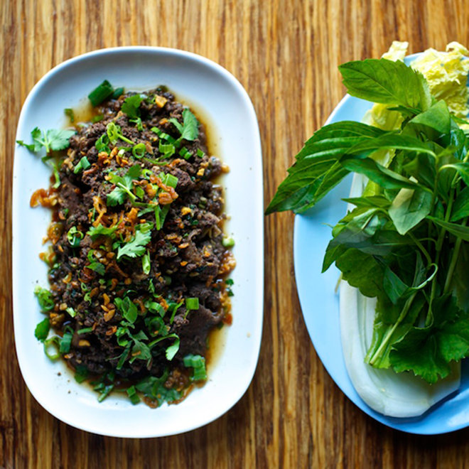 Food & Wine: Andy Ricker's Amazing All-Meat Thai Salad