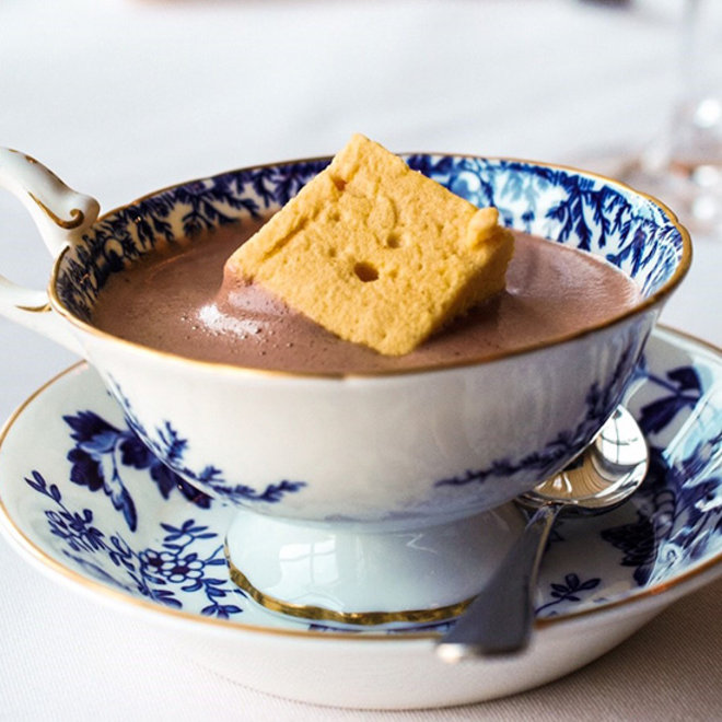 Food & Wine: Spiced Hot Chocolate with Ras El Hanout Marshmallow from Bondir