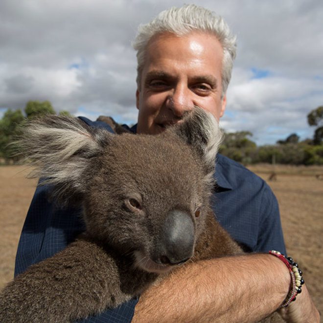 Food & Wine: Eric Ripert Sustains a Matsutake Epiphany, Is Loved by Koalas in New Season of Avec Eric
