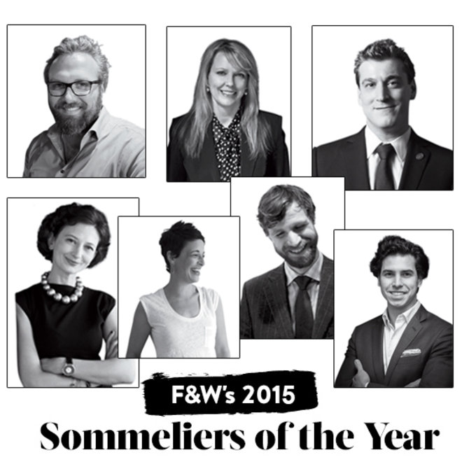 Food & Wine: 2015 Sommeliers of the Year