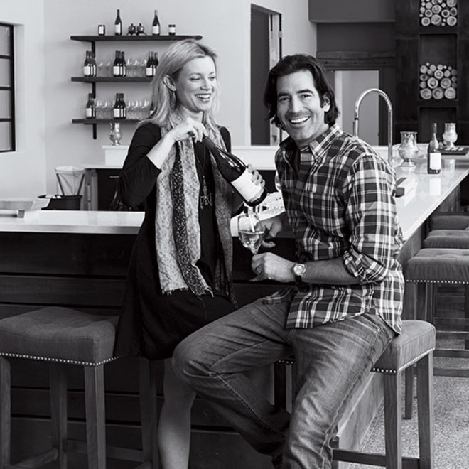 Food & Wine: Amy Smart and Carter Oosterhouse
