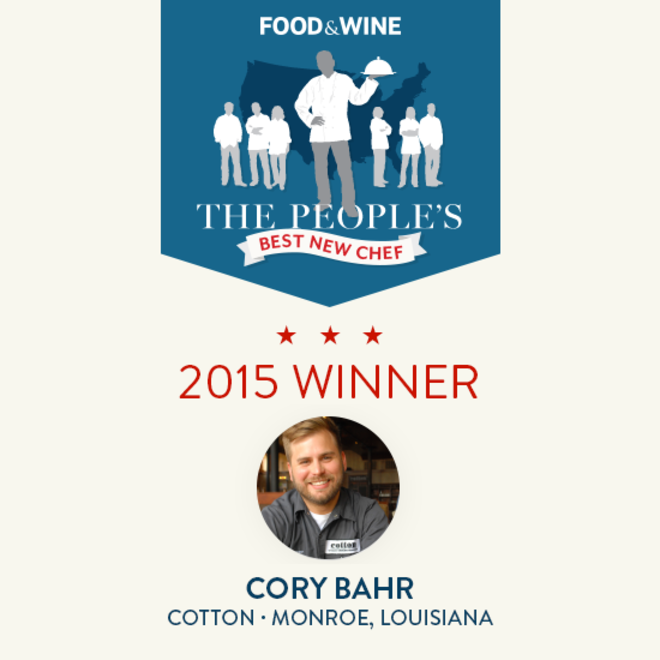 Food & Wine: The People's Best New Chef 2015 Winners