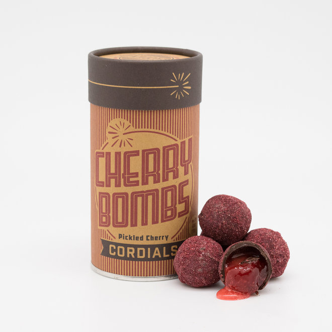 Pickled Cherry Cordials