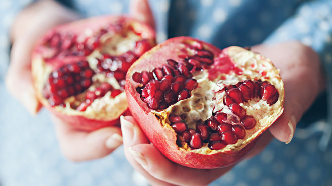 Food & Wine: Pomegranate Anti-Aging Effects