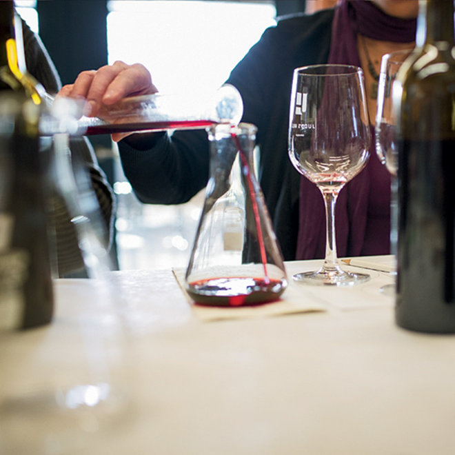 Food & Wine: Pouring Wine