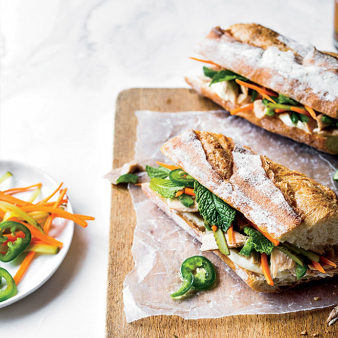 Food & Wine: Tuna Banh Mi